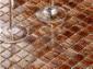 茶色金线玻璃马赛克